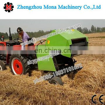 China supplier farm use mobile straw baling machine/straw baler for silage