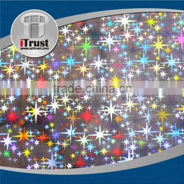 Laser lamination reflective film