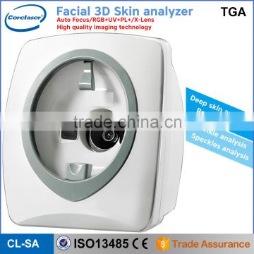 2016 Portable Skin Analyzer Machine/skin and hair analyzer/facial analyzer
