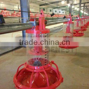 Goldenest patent automatic breeder pan feeder plastic chicken feed trough