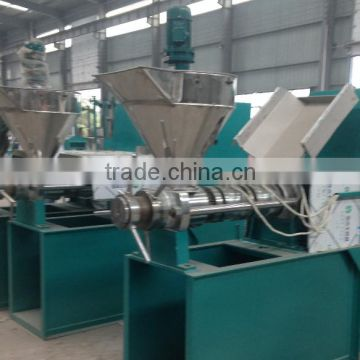 palm oil mill screw press / peanut oil presser/oil pressing machine