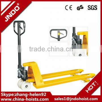 adjustable hydraulic hand pallet jack 2 ton forklift truck with ce