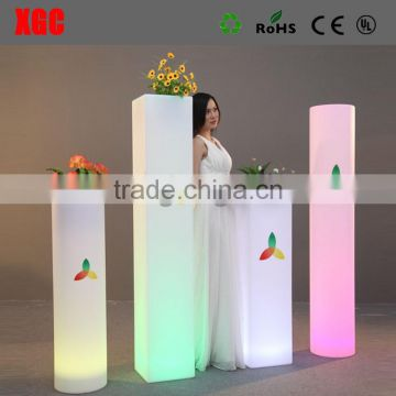 wedding pillars columns change 16 colors pink GD211