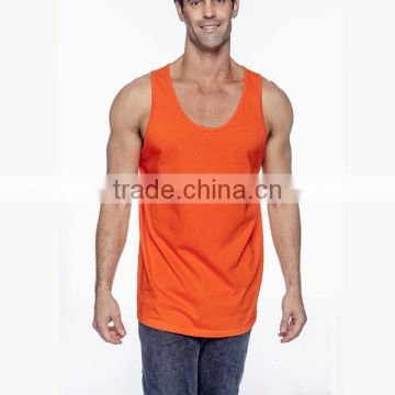 OEM scoop neck seamless fitness tank top