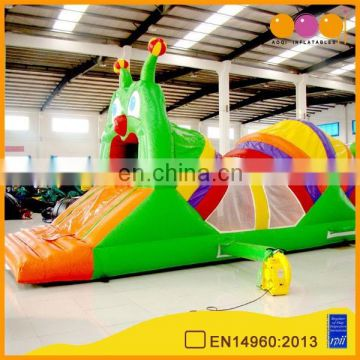 AOQI insect theme inflatable climb tunnels for amusement park