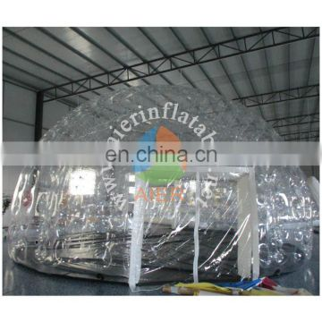2017 new design luxury inflatable transparent tent/hot sale inflatable tents for sale