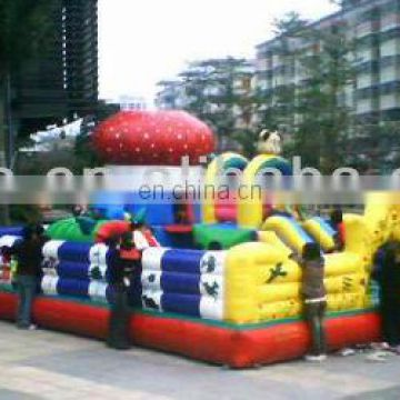 inflatable city, fun city games, inflatable toys FN035