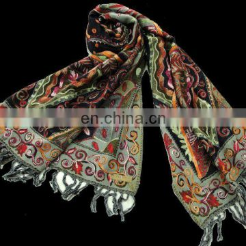 (SUPER DEAL) WOOL PASHMINA SHAWL