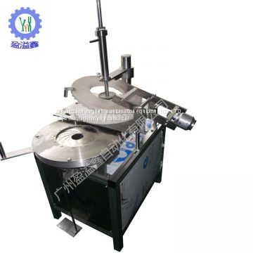 Manumotive blue bubble packing machine
