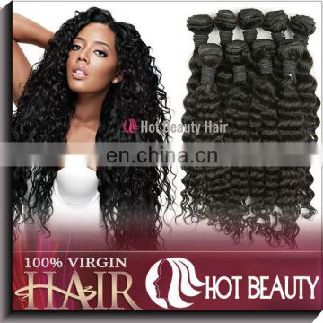 Black Hair Brands Deep Wave Human Hair For Braiding