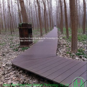 Park/garden/yard landscape decoration wpc decking floor
