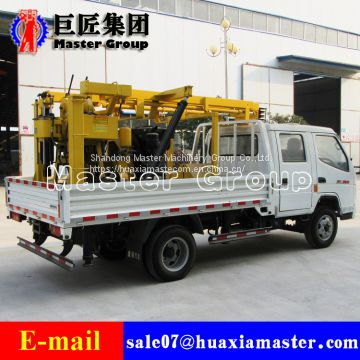 Geological investigation YC-200A Tricycle Water Well Drilling Rig