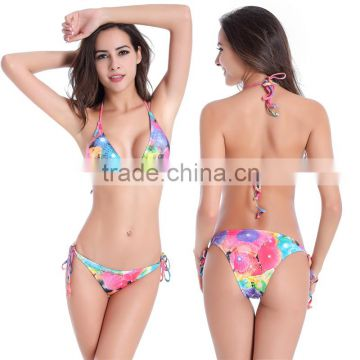 Sexy Froral Women Bandage Bikini Set Push-up Beach Swimsuit Swimwear Plus Size                                                                         Quality Choice