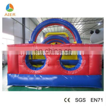 2016 new design inflatable obstacle games/cheap inflatable sport games for sale