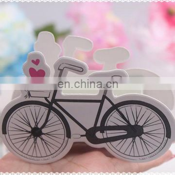 wedding party gift box bicycle wedding favor candy box