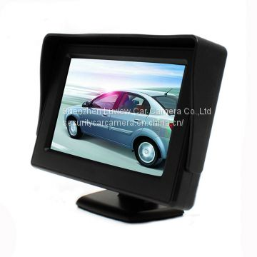 3 watts wholesale 4.3 inch TFT digital waterproof lcd car monitor display JY-M043 from China manufacturer