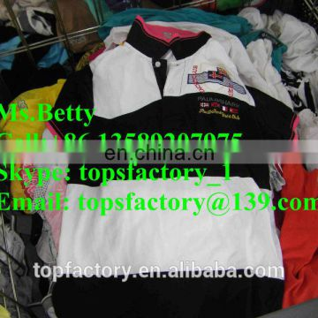Top quality fashion second hand tropical mix