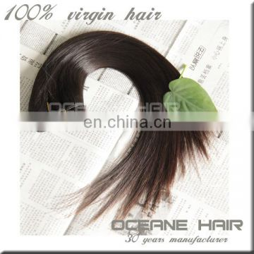 Chemical free no tangle and shedding top grade virgin brazilian hair in mozambique