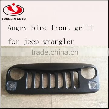 ABS Wild Boar angry eye front Grille bird grill for Jeep Wrangler 07-14