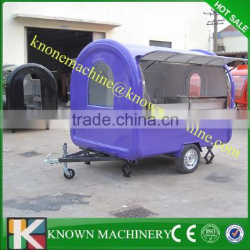 304 SUS Material good quality with CE mobile food kiosk catering