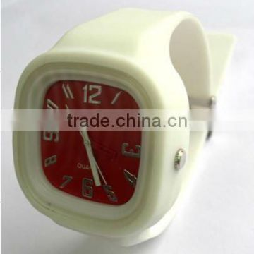 Silicone digital watch