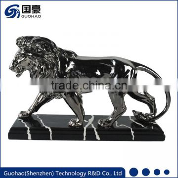 Home decoration Bronze lion statues sculpture
