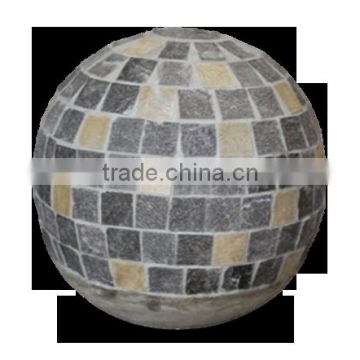 Round Ball lightweight cement for decoration