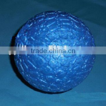 EPP material blue color yoga ball, blue color massage ball, body fitness ball