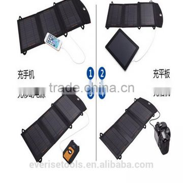 5.5W portable wholesale solar cellphone charger panel for mobile phone