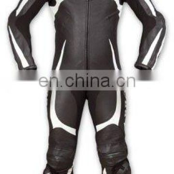 Leather Motorbike Racing Suit (L-S 027)