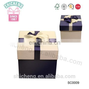 New product packaging cardboard wedding fancy paper gift box