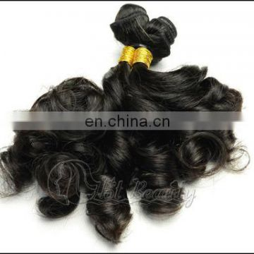 High quality natural color unprocessed donor top grade brazilian fumi virgin human hair weaving