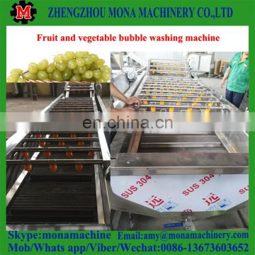 China popular selling Air Bubble Vegetable and Fruit Washing Machine