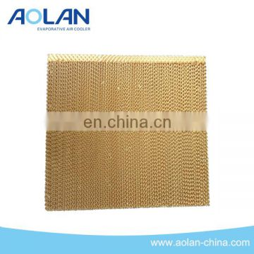 evaporative cooling pad with high efficiency