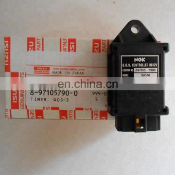 Genuine 4LE1 8-97105790-0  glow plug timer for truck