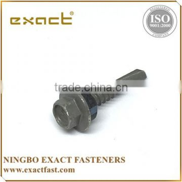Pan head self tapping screw hex washer head roofing screw