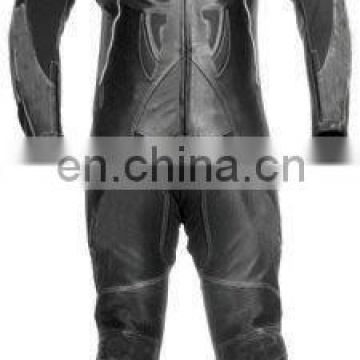 Leather Motorbike Racing Suit (L-S 011)