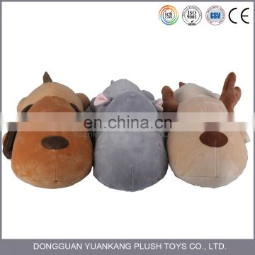 China Factory Custom Animal Shaped Plush Toys Pillow