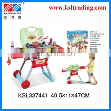 real action barbecue set kids bbq toy