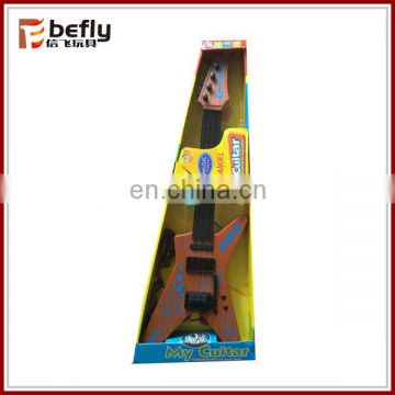 Plastic electric rock guitar toys