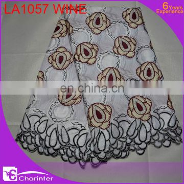cotton lace swiss voile lace african lace fabric wholesale