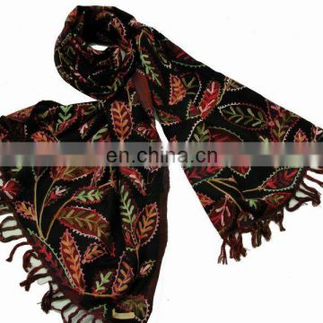 (Super Deal)Cashmere Embroidery Shawl