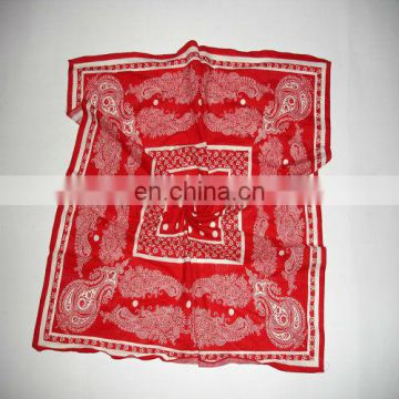 Printed cotton handkerchief export to United States (CT-081701)