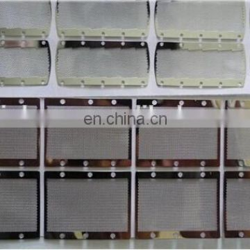 Etching stainless steel wire mesh