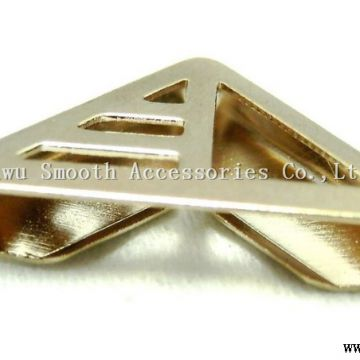 Wholesale Hollow out Fashion Metal Collar Tip Corner Clothing Accessories