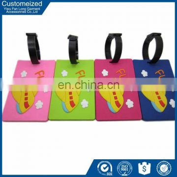 Professional Manufacture Customized Design Eco Friendly faux leather luggage tags