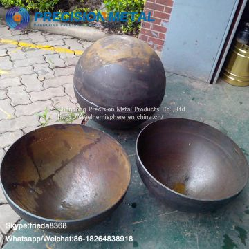 Hot Forging steel hemisphere Hemispherical Head for Hydrogenation Reactor