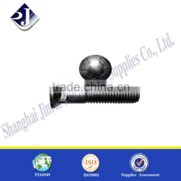 Grade 8.8 counter sunk square neck bolt Onlinbe shoppong product plow bolt Plow bolt with zinc finished