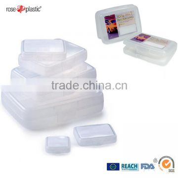 PP transparent PVC clear PE colored labelling and printing plastic jewelry suiting packaging box Consumer Box CB