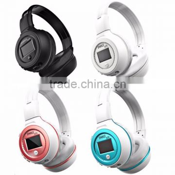 Top quality B570 Stereo Wireless Headset Bluetooth headphone Headband Headset with FM TF LED indicators for mp3